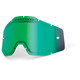 100% Vented Dual Replacement Lenses green / mirror